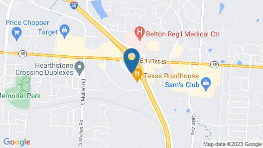 Econo Lodge Belton - Kansas City South Map