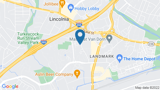 The Luxe Suites of Alexandria Map