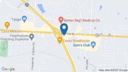 Quality Inn Belton - Kansas City South Map