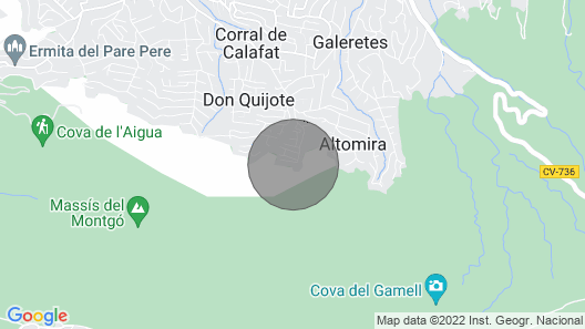 Santa Lucia Villa, Sleeps 6 With Pool, Air Con and Wifi Map