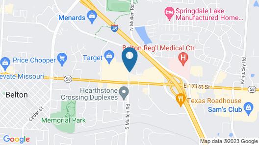 Fairfield Inn & Suites by Marriott Kansas City Belton Map