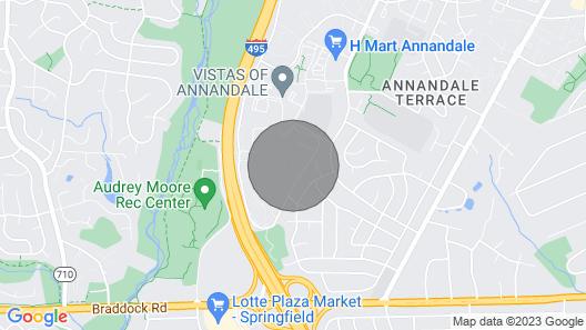 Upscale 3br/1ba Spacious Condo Close to DC Map