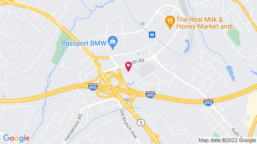 Country Inn & Suites by Radisson, Camp Springs (Andrews Air Force Base), MD Map
