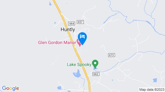 Glen Gordon Manor Map