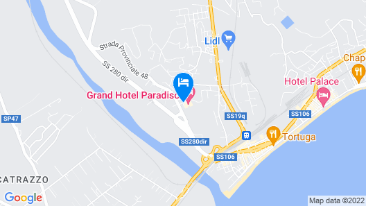 Grand Hotel Paradiso Map