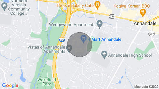Your Perfect Townhome in Dmv! Map