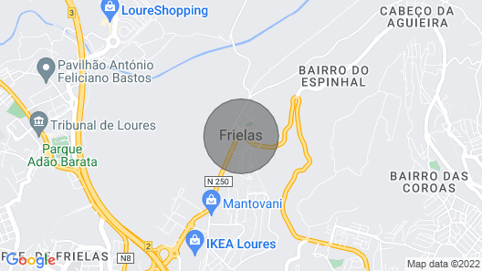 Frielas House Comfortable Apartment for 4 People Map