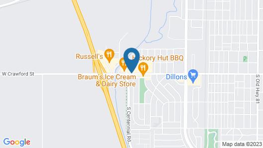 Baymont by Wyndham Salina Map