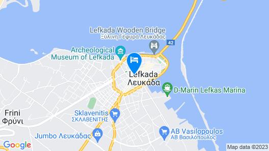 Lefkada Princess Map