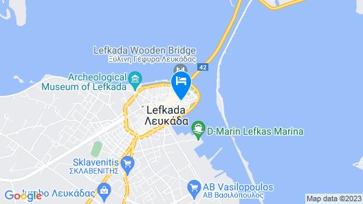 The Secret Boutique Hotel Map