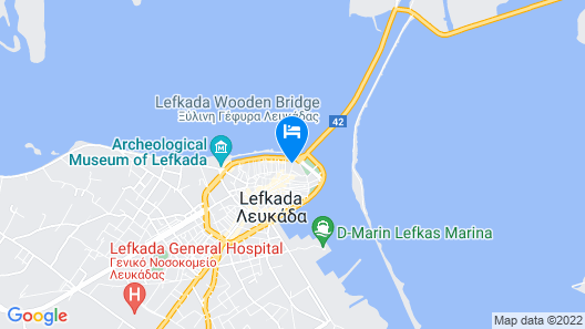 Hotel Boschetto Map