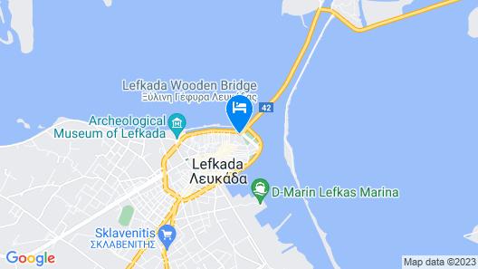 Nirikos Hotel Map
