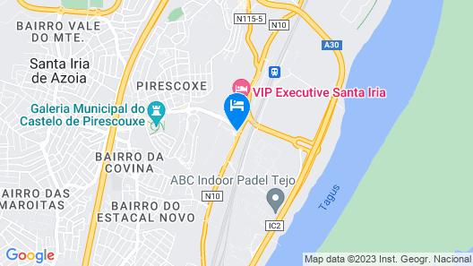 Mira Tejo Map