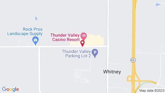 Thunder Valley Casino Resort Map