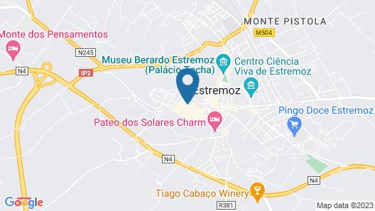 Pousada Castelo de Estremoz - Historic Hotel Map