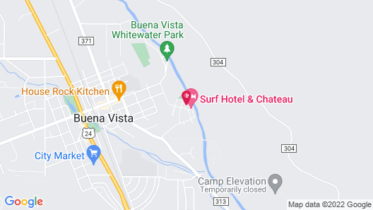 Surf Hotel & Chateau Map