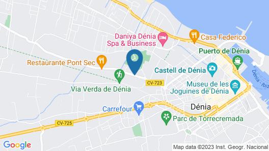 Apartamento Mar de Denia Map