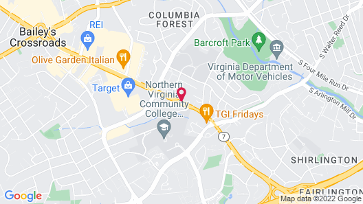 Homewood Suites by Hilton Alexandria / Pentagon South Map