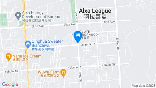 GreenTree Inn Alashanmeng Zuoqi Xinsizhong Business Hotel Map