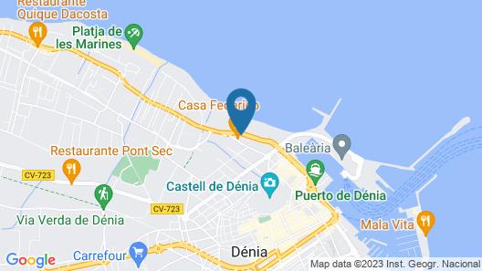 Apartamentos Acuario Map