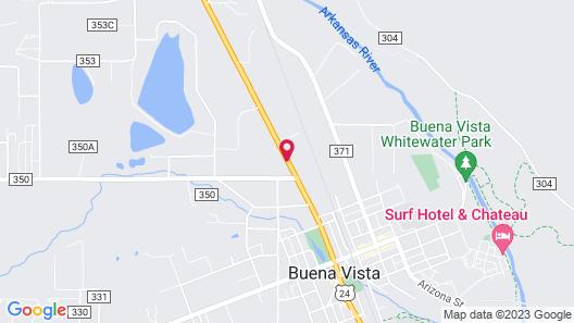 Best Western Vista Inn Map