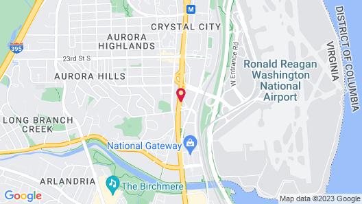 Hyatt Regency Crystal City Map