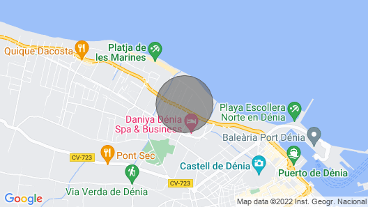 New Life Apartment. 50m From the Beach, Large Terrace, A / C, Wifi Map