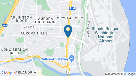 Holiday Inn National Airport/Crystal City Map