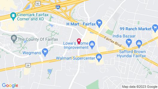 SpringHill Suites by Marriott Fairfax Fair Oaks Map