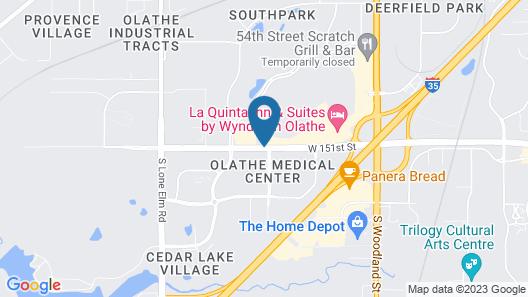 Days Inn by Wyndham Olathe Medical Center Map