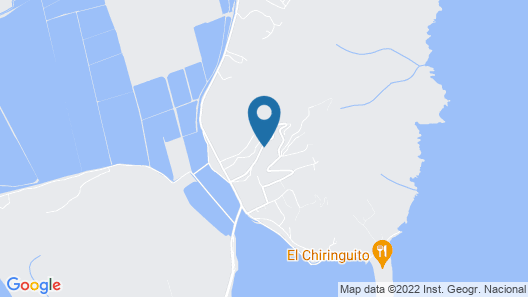 Modern Holiday Home Near Beach in Ses Salines Spain Map