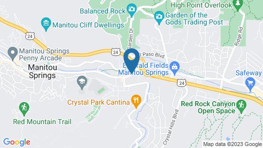 Silver Saddle Motel Map