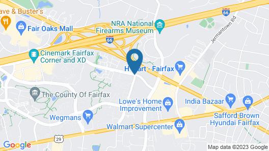 Candlewood Suites Washington-Fairfax Map
