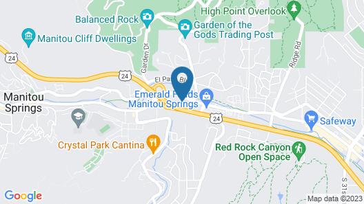 La Fun Motel Map