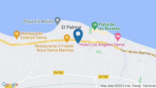 Apartamentos Serviden La Fontana Map