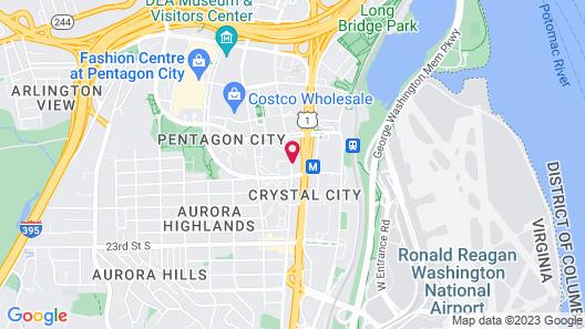 Crystal Gateway Marriott Map