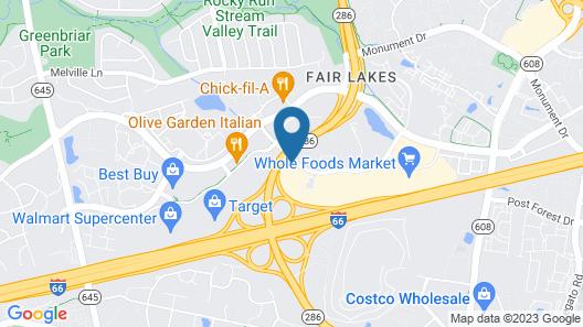 Hilton Fairfax Map