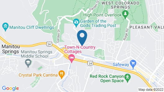 Red Wing Motel Map