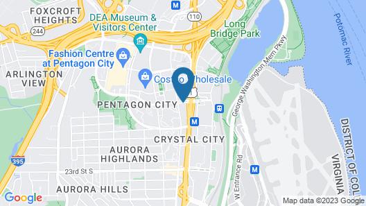Oakwood Crystal City Map
