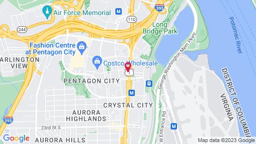 Americana Hotel Map