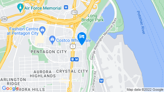 Crowne Plaza Crystal City-Washington, D.C. Map