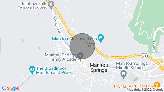 Manitou Springs Downtown Escape Map