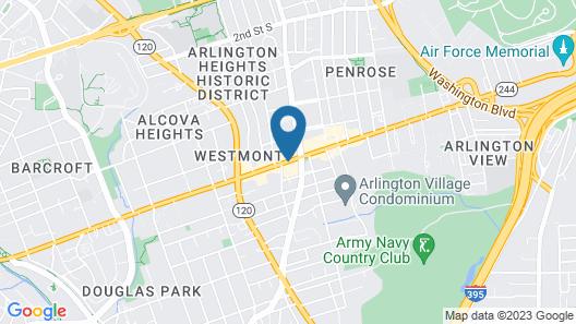 Days Inn by Wyndham Arlington Pentagon Map