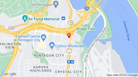 DoubleTree by Hilton Washington DC - Crystal City Map