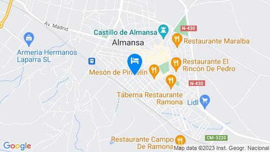 Hostal El Estudio Map