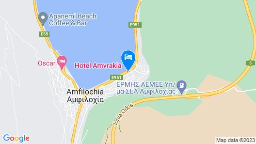 Amvrakia Hotel Map