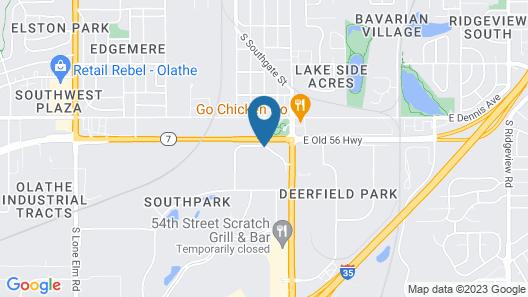 Econo Lodge Olathe - Kansas City Map