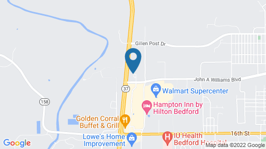 Quality Inn & Suites Bedford West Map