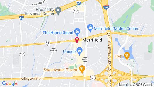 Hyatt House Falls Church/Merrifield Map