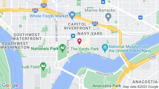 Thompson Washington D.C. Map